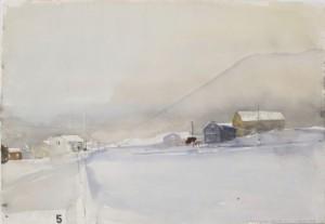 Vinterväg Vesterålen by Lars LERIN