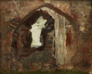 S:t Olofs Ruin, Visby by Ernst JOSEPHSON