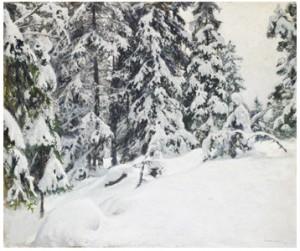 Efter Snöfallet by Gottfrid KALLSTENIUS