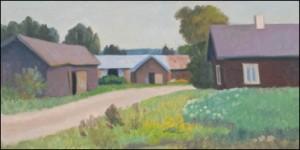 Gårdsväg I Tammela by Onni OJA