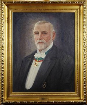 Porträtt Av Johan E Ekman by Alexander 'Alex' LANGLET