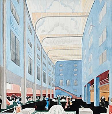Danspalatset-interiör by Torsten JOVINGE