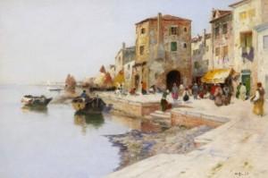 Kaj I Venedig by Wilhelm Von GEGERFELT