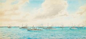 Vår örlogsflotta På Västkusten 1905 by Jacob HÄGG