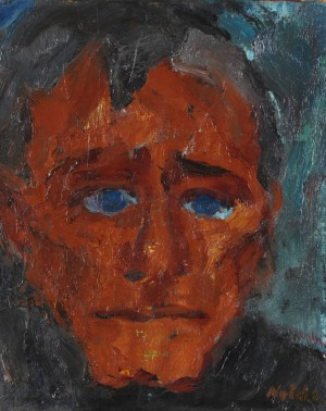 Peter P by Emil NOLDE