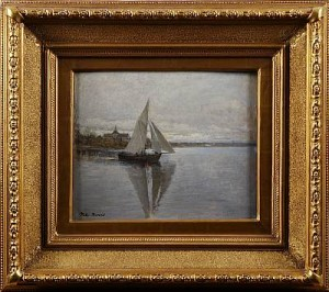 Segelbåt by Victor FORSSELL