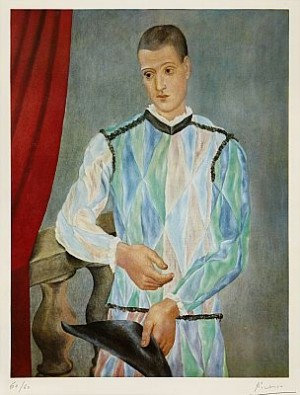 Barcelona Suite: Harlequin by Pablo PICASSO