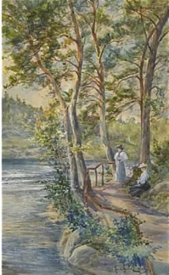 Vilostund Vid Delsjön by Anna GARDELL-ERICSON