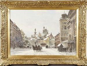 Stadsmotiv by Wladyslaw CHMIELINSKI