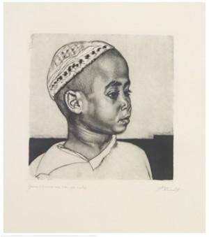 Noor Araablane - Petit Arabe Manière Noire by Eduard WIIRALT