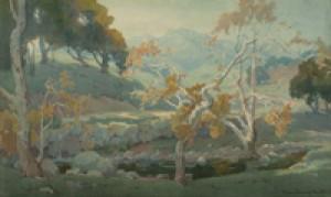 Ojai Countryside by Marion Kavanagh WACHTEL