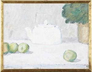 Stilleben Med Thekanna by Olle NYMAN
