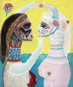 Två Kvinnor by Max Walter 'Max Walters' SVANBERG