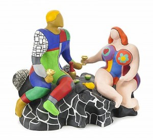 Adam Et Eve by Niki De SAINT-PHALLE