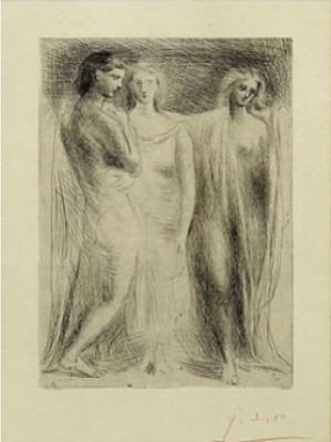 Les Trois Femmes by Pablo PICASSO