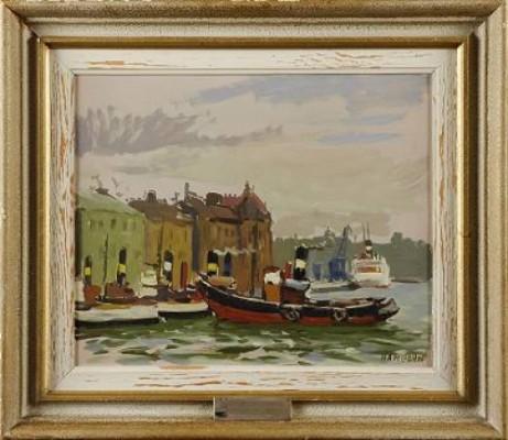 På Strömmen by Axel HAMBORN