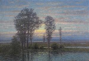 öländskt Landskap I Soldis by Per EKSTRÖM