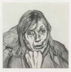 Susanna (hartley 53; Figura 57) by Lucian FREUD