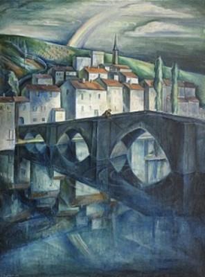 Den Kubistiska Staden - Poitiers by Erik JÖNSSON