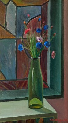 Flowers In A Vase by Veikko VIONOJA