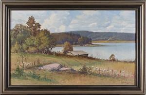 Sommarlandskap by Arthur HEICKELL