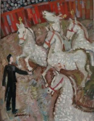 Cirkus by Bertil WAHLBERG