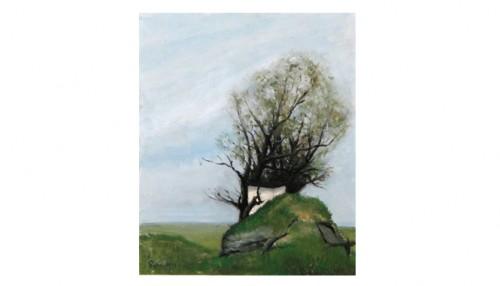 Träd I Landskap by Ryno FRIEBERG