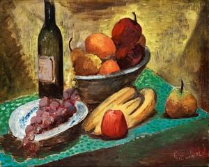 Fruktstilleben by Isaac GRÜNEWALD
