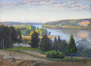 Sommarlandskap by Carl JOHANSSON