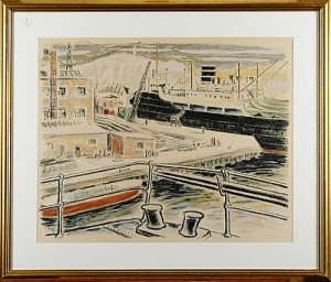 I Hamnen by Gustav ALEXANDERSSON