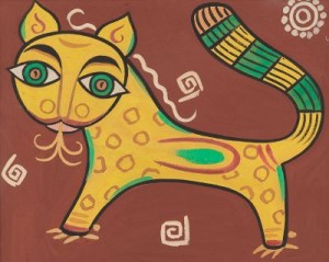 Tiger by Jamini ROY