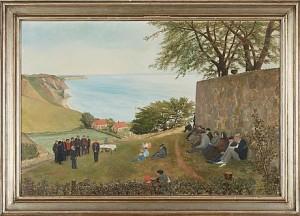 Frälsningsarméns Möte by Emil 'E. J-Thor' JOHANSON-THOR