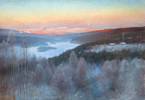 Landskap I Jämtland by Anshelm SCHULTZBERG