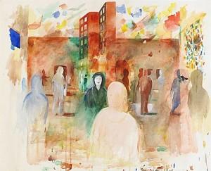 Stadsrum I by Ulf GRIPENHOLM