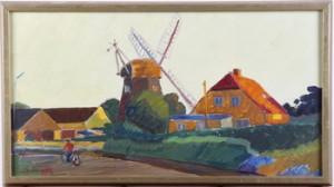 Väderkvarn by Olle Von SCHEWEN