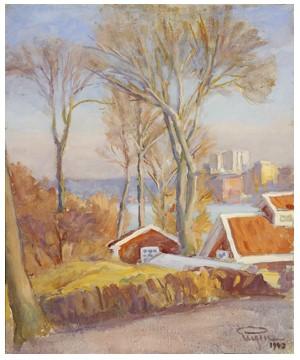 Trädgårdshus W.udden by Prins EUGEN