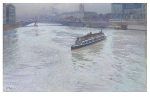 The Seine by Frits THAULOW