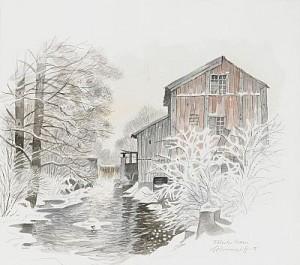 Röbacka Kvarn by Gunnar BRUSEWITZ