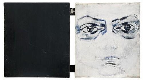 Selfportrait - Diptych by Torsten 'Torsten' ANDERSSON