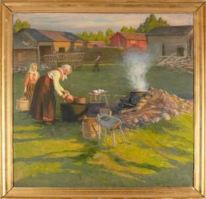 En Gård I Gesunda by Karl Enoch RINGNÉR