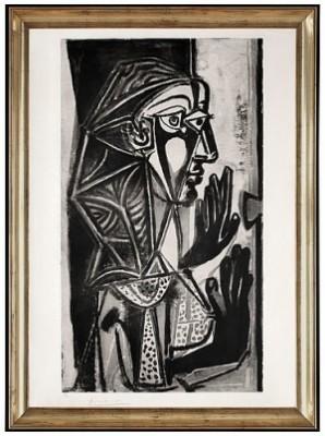 La Femme à La Fenêtre by Pablo PICASSO