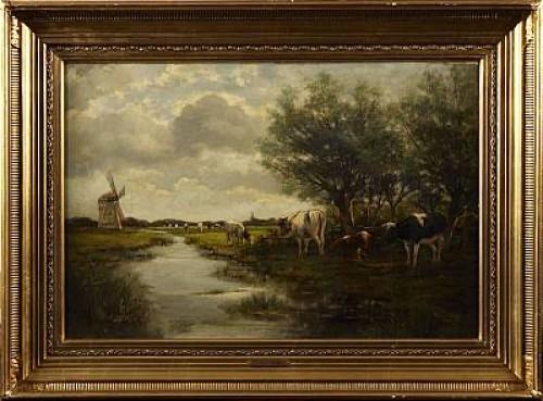 Betande Kor by Willem Van Der VLIET