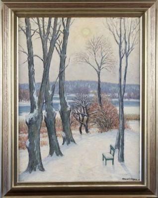Vintermotiv by Arvid NILSSON