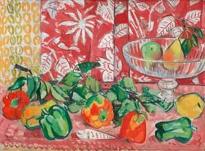 Paprikafrukter by Arthur PERCY