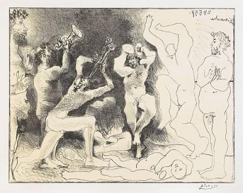La Danse Des Faunes, Bloch 830 by Pablo PICASSO
