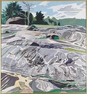 Bergslandskap by Sven-Olof EHRÉN