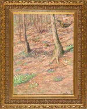 Hvitveis I Skogen by Conrad SELMYHR