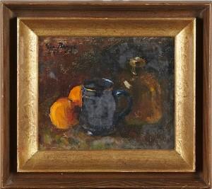 Blå Mugg Och Apelsiner by Eva BAGGE