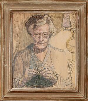 Porträtt Av Kvinna by Lars GYNNING