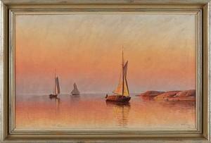 Segelbåtar I åländsk Skärgård by Erik ABRAHAMSSON